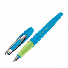 Ручка перьевая для правши Herlitz My.pen Blue-Neon (10999761)